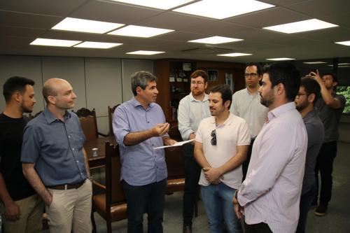 Reunião com Representantes da AMPEA