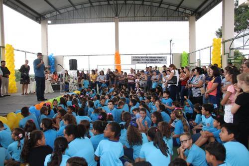 Inauguração Escola Municipal de Warta