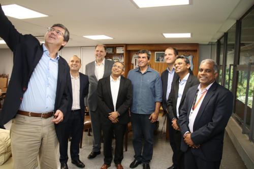 13.02.20 - Reunião Gabinete com empresa internacional TATA (TCS). Foto: Emerson Dias