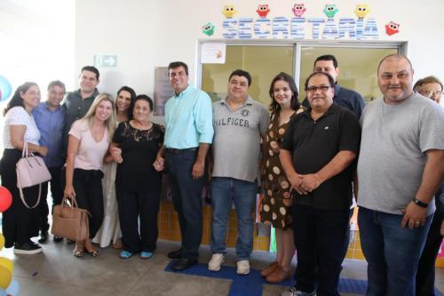 Escola Samira Janene - inauguração - VH (89)