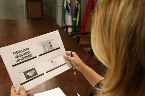 17.03.2020 - Coletiva: Ações contra Coronavirus - Educação / Idoso / Ação Social - Foto: Emerson Dias