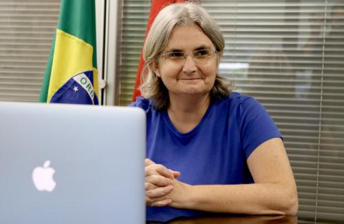 15.04.2020 Coletiva online sobre Vacinação contra Gripe - Foto Emerson Dias