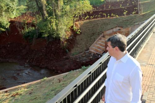 22.04.2020 - Entrega da nova ponte na Av Soiti Taruma - Foto: Emerson Dias