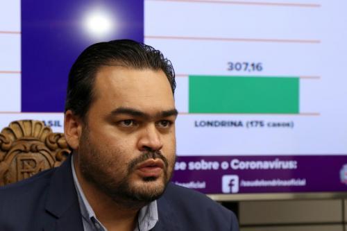 20.05.20 - Coletiva sobre aumento de restrições - Foto: Emerson Dias