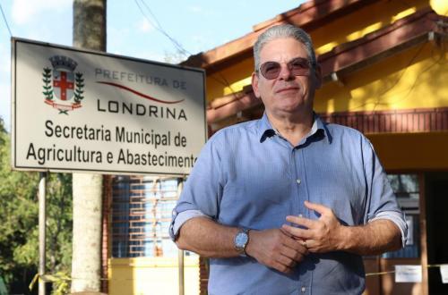 20-05-20 - Gustavo Santos - novo Secretário de Agricultura - Foto: Emerson Dias