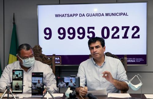16.06.2020 - Gabinete e GM falam sobre aumento no valor das multas - Foto: Emerson Dias