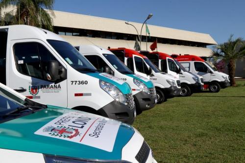 17.06.2020 Novas ambulâncias para o município - Foto: Emerson Dias