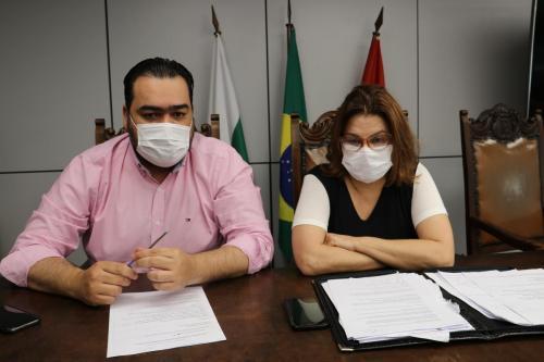 23.06.2020 - Coletiva secretários Saúde e Idoso sobre Covid19 - Foto: Vivian Honorato