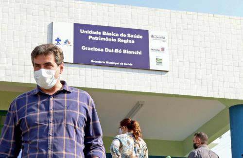 14.08.2020 - Revitalização da UBS do Patrimônio Regina - Foto: Emerson Dias