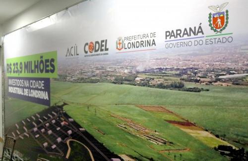 15.10.2020 Governador anuncia R$ 23,9 milhões em recursos para Cidade Industrial - Foto: Emerson Dias