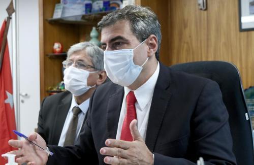 18.12.20 - Diplomação online  do TRE para Prefeito e vereadores de Londrina - Foto: Emerson Dias
