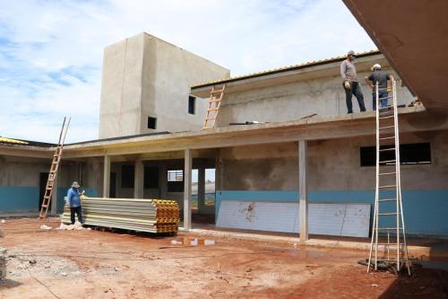 Vistoria em obras municipais - Fotos Vivian Honorato