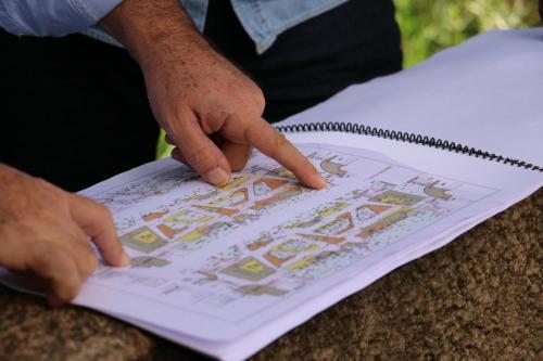 Ordem de serviço para revitalização do Bosque Central - Fotos Vivian Honorato