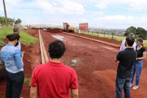 Vistorias em obras públicas - Fotos Vivian Honorato