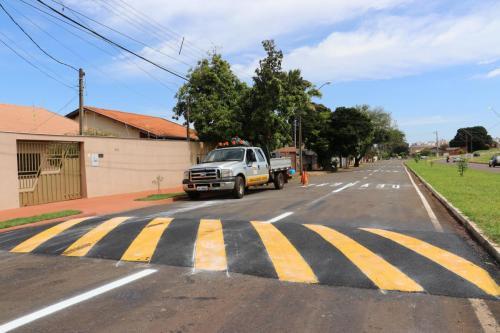 Liberação da continuação da rua Jayme Americano - Fotos Vivian Honorato
