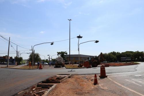 Fiscalização de obras públicas - Fotos Vivian Honorato