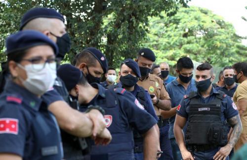06.04.21 Vacinação das forças de Segurança contra Covid-19. Foto: Emerson Dias