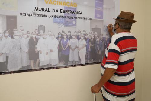 Mural da esperança - Fotos Vivian Honorato