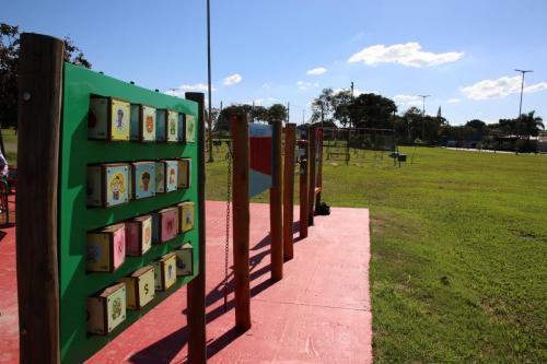 09.04.21 Praça e parque adaptados para autistas e deficientes. Foto: Emerson Dias