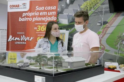 18.05.21 Primeiros mutuários Residencial Bem Viver (Construtora Pacaembu). Foto: Emerson Dias