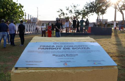 Entrega praça Parigot de Souza - Foto: Emerson Dias