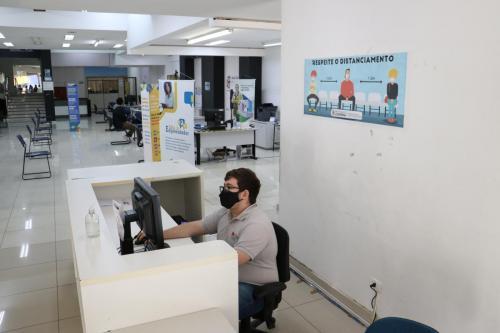 02.06.2021 Nova sede Secretaria do Trabalho e Sala Empreendedor - Foto: Emerson Dias_NCom