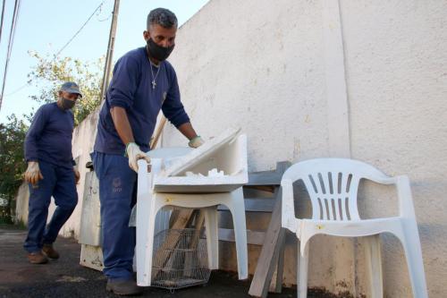 07.07.2021 Mutirão contra dengue Jardim Bandeirantes - Foto: Emerson Dias_NCom