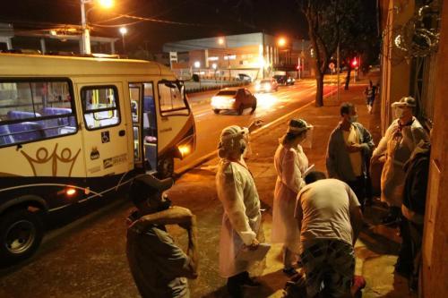 21.07.2021 - Operação Noite Fria Londrina - Foto: Emerson Dias