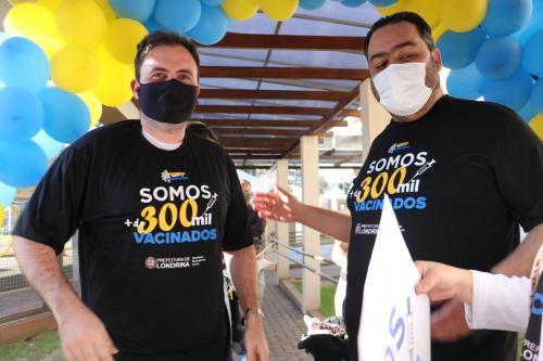 Londrina soma 300 mil vacinados - Foto: Vivian Honorato / NCom